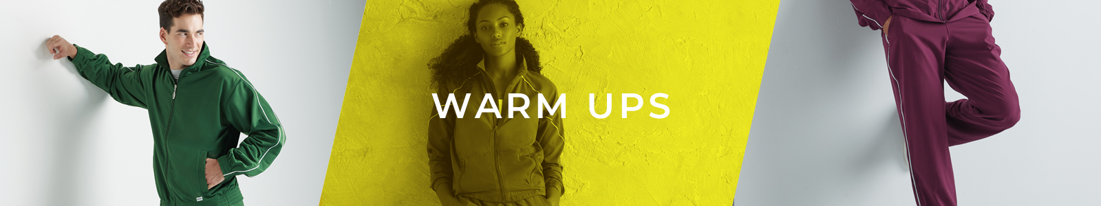 soffe apparel warm ups category banner
